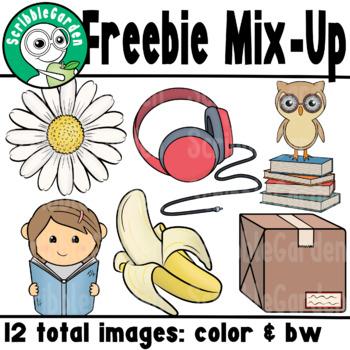 Freebie Mix Up ClipArt