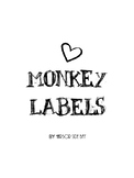 Freebie: Monkey Labels