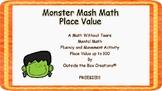 Freebie Monster Mash Math:  Place Value  (PDF Version)