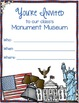 Freebie Monument Museum - Interactive Activity for U.S. Sy
