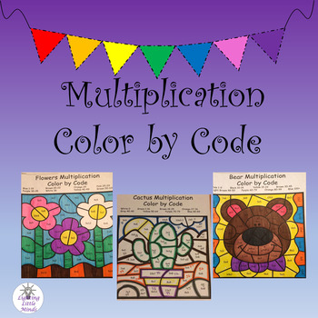 Freebie Multiplication Color by Code