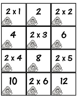 Freebie:  Multiplication Memory (2's and 3's)