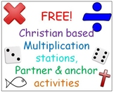 Freebie: Multiplication Stations and anchor activities