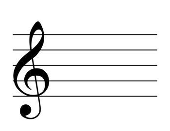 Freebie~ Music Staff