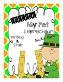Freebie My Pet Leprechaun (craft and writing)