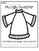 Freebie - My Ugly Sweater Ornament