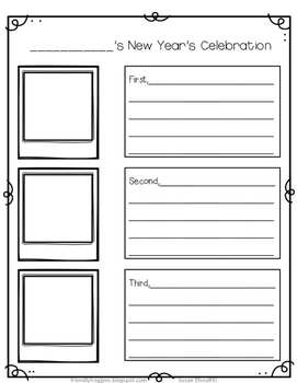 Freebie - New Year's Celebration Snapshot