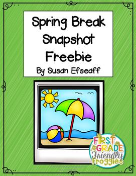 Freebie - Spring Break Snapshot