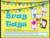 Freebie- No Tardies Brag Tags