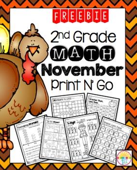 Freebie November Print N' Go Sample