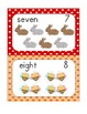 {Freebie!} Number Word Picture Cards