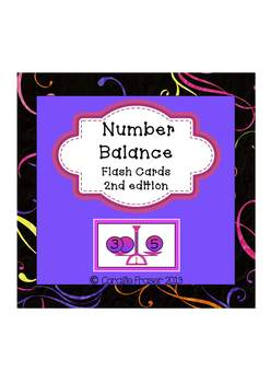 Freebie Numbers1-10 Balance Scales 2nd edition