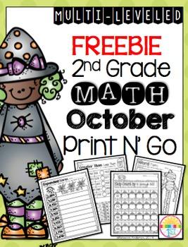 Freebie October Print N' Go