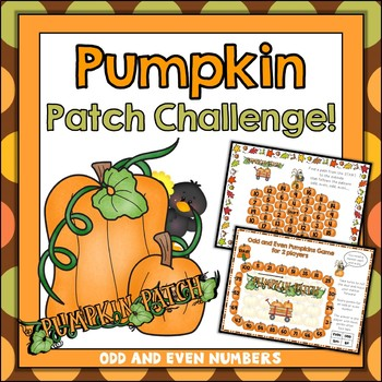 {Freebie} Odd and Even Numbers Pumpkin Patch Challenge!