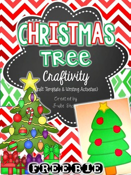 {Freebie} Oh Christmas Tree! Craftivity