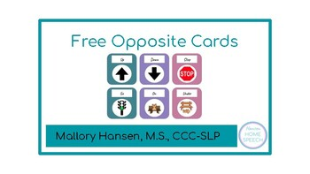 Freebie Opposite Cards