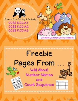 FREEBIE: Counting (Number Names and Count Sequence)