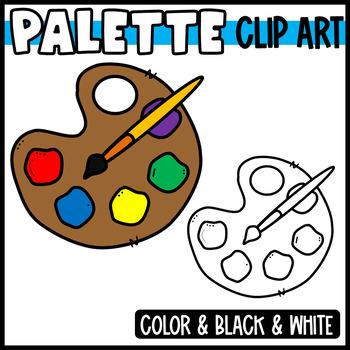 Freebie: Paint Palette Clipart