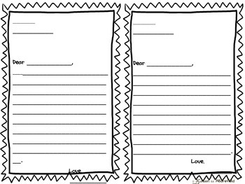 Freebie Parent Night Student Letters