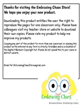 Freebie!  Parent Teacher Conference Student Reflection Form