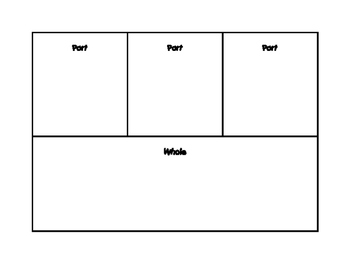 Freebie Part-Part-Whole Mats for 2 and 3 Addends