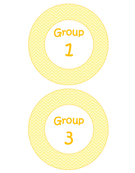 Freebie- Pastel Orange Group Labels