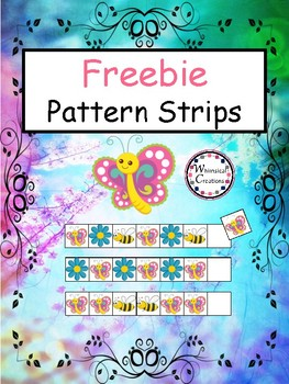 Freebie: Pattern Strips