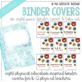 Freebie! Physical Education Binder Cover & Section Headers | PE Edition