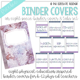 Freebie! Physical Education Binder Cover & Section Headers | Second Edition