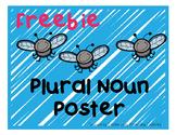 Freebie - Plural Noun Poster
