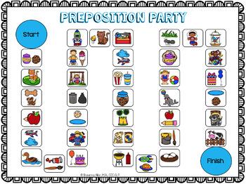 Freebie: Preposition Party