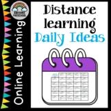 Preschool Closure - Distance learning 29 days of fun activities
