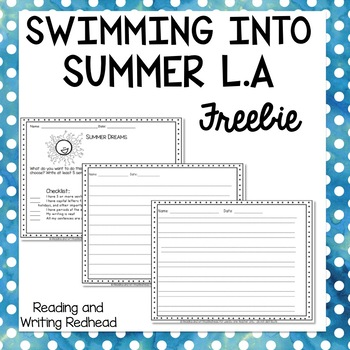 Summer Reading and Writing Practice Freebie