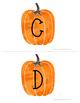 Freebie Pumpkin Musical Alphabets