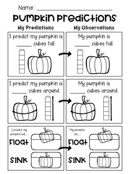 Freebie: Pumpkin Predictions