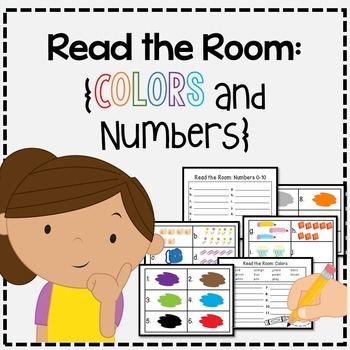 Freebie! Read the Room: Numbers and Colors!