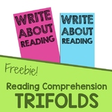 Free Reading Comprehension Response Sheet for Main Idea an