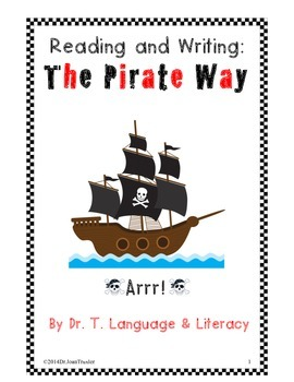 Freebie: Reading and Writing: The Pirate Way