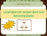 *Freebie*  Reusable Number Bonds Handout w/ Recording Sheet