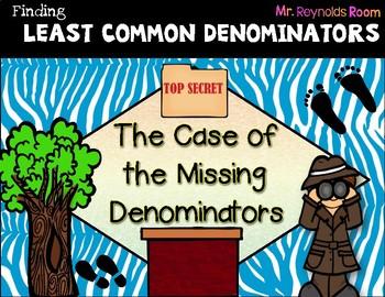 Least Common Denominator (Freebie)