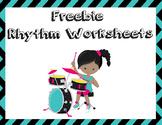 Freebie-Rhythm Worksheets