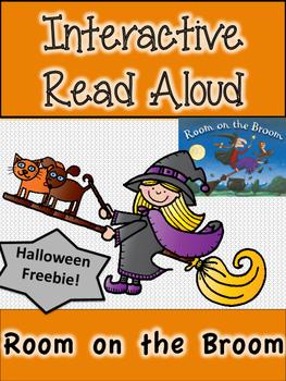 Room on the Broom Interactive Read Aloud - Freebie!