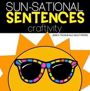 Freebie! {SUN-Sational Sight Word Sentences!} Craftivity
