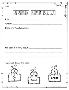 Freebie Sample - Elementary Library No Prep Printables