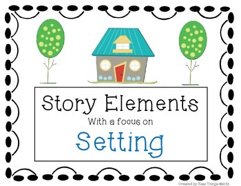 Freebie Sample Pages From:Story Elements-Setting