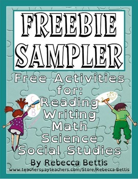 Freebie Sampler-Activities for Language Arts, Science, and Social Studies