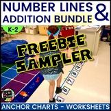 Number Line Addition | Understanding Number Sentences FREEBIE SAMPLER