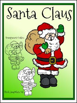 Freebie Santa Claus Clipart (Embellish Yourself Artworks)