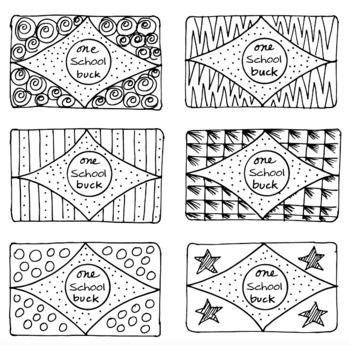 Freebie! School Bucks Freebie! by Science and Math Doodles