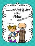 CCSS Aligned: Famous Artist Studies Close Reading - Henri Matisse